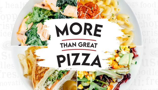 More than great pizza